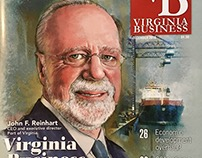 Virginia Business Cover Portraits
