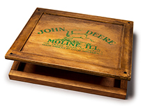 John Deere Custom Wooden Slipcase