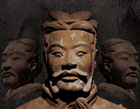 Terracotta Warriors of Qin - Poster and Booklet