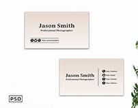 Free Creative Minimal Business Card Template