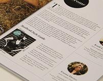 'Lush' Magazine Design