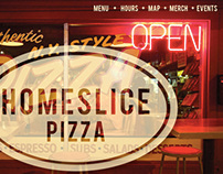 Homeslice Site Redesign - Mockup