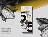 Chocolate Packaging Design —— Tudor Gold