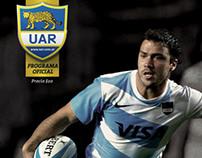 Programa Los Pumas vs. Inglaterra - Salta