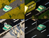 Isometric - Road Trip