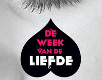 Affiche Week van de Liefde (7 days of love)