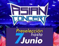 Flyers Asian Concert