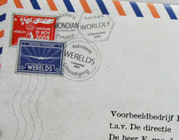 Invitation mailing for a Dutch bank