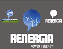 Renergia - Branding and collateral