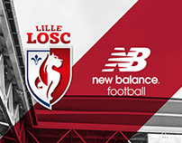 Lille OSC 17-18 Away Kit Launch Key Art