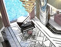 Luxury Art Deco Reception