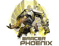 Bracer Phoenix - Posable Action Figure