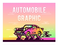 SA9527-Automobile Graphic