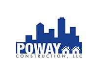 Poway Construction (diseño de logotipo)