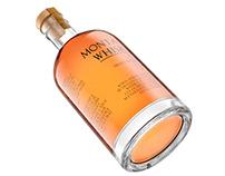 3D Render Bottle Whisky