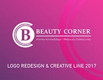 Logo redesign & creative line