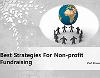 Best Strategies For Non-profit Fundraising | Carl Kruse