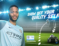 Manchester city -Tecno global campaign