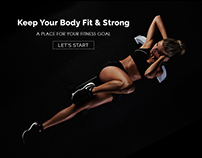 Gym & Fitness Theme Design