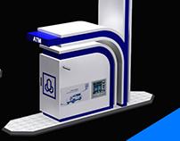 Al Rajhi Bank - ATM Driveup Kiosk Design