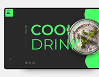 Cool Drink PSD templet