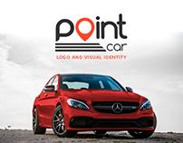 POINT CAR   Logo and Visual Identity
