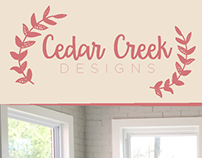 Cedar Creek Designs | Interior Design Branding