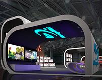 Sony Bravia booth