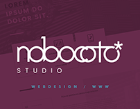 NOBOCOTO studio — logo & website