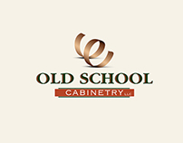 Old School Cabinetry Brand Identity