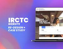 IRCTC Case study + Interaction design