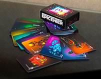 Playing cards for EPICENTER XL