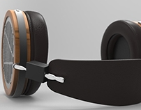 3D Product Viz and Rendering (LCD-3 Headphone)