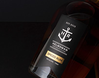 Helmsman Rum Brand Identity & Packaging Design