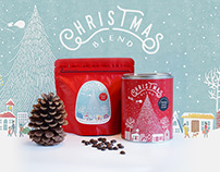 Apollo Coffee Works Christmas Blend Package