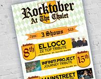 Rocktober Poster