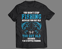 Fishing T-Shirt Designs Bundle