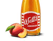 BOTELLAS RETRO / WATT'S