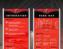Ferrari World Abu Dhabi - Wayfinding Design System