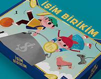 İşim Birikim // Board Game illustration