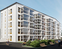 Residential complex in Finland