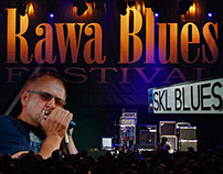 SKL Blues on 34 Rawa Blues Festival Press Materials