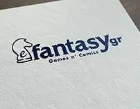 efantasy.gr - Logo design and branding