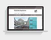 Ordem dos Arquitectos — Website Portal dos Arquitectos