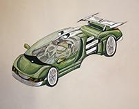 Design of sport car.