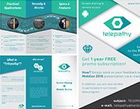 Telepathy App - Informational Brochure