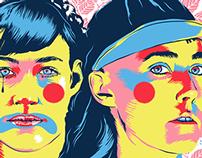CocoRosie Tour Poster