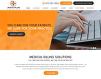MEDICAL BILLING-Webdesign for Medical Solutions Company