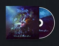 Tezaura - Unleash the Butterflies CD Packaging Design