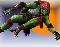 fan art tortugas adolescentes ninja mutantes